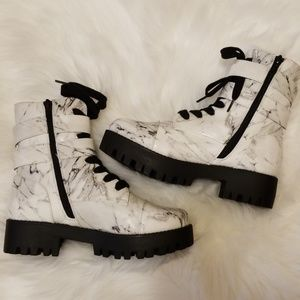Marble Combat boots!